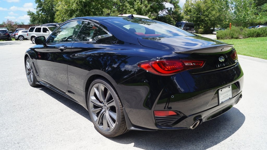 New 2018 Infiniti Q60 Red Sport 400 Coupe In Charleston I5146