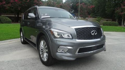 Certified Pre-Owned 2017 INFINITI QX80 Base